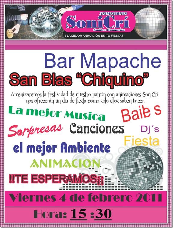 cartel bar mapache