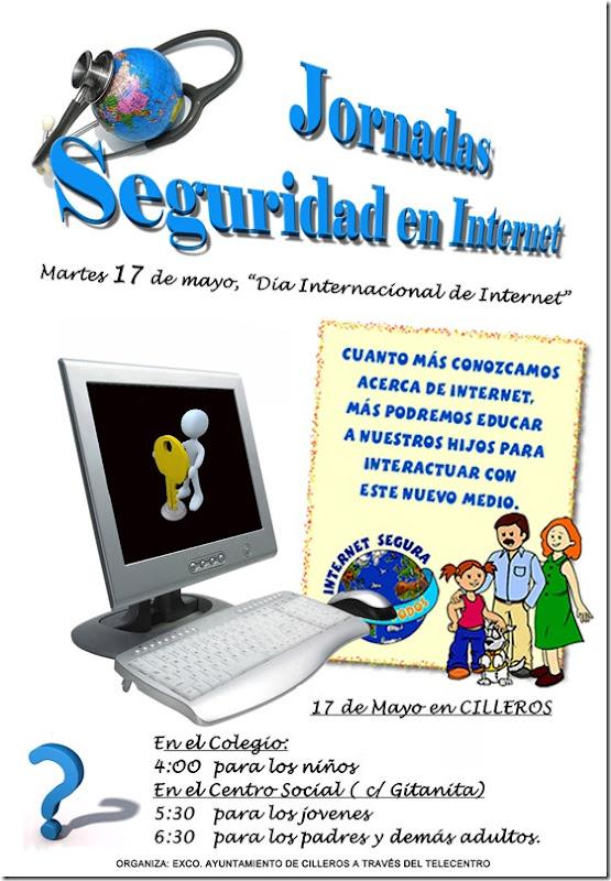 cartel de seguridad en internet