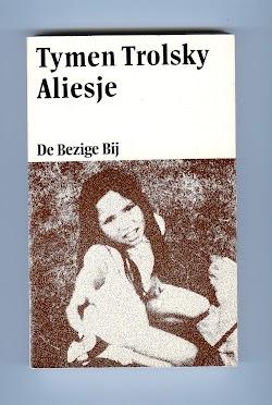 Eerste omslag roman Aliesje