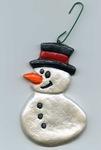 Snowman Ornament001
