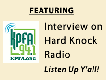 KPFA Radio interview