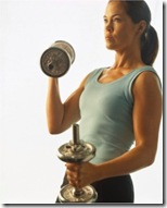 woman-weights