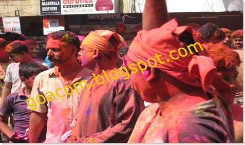 shigmo revellers in Goa