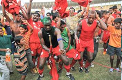 Churchill brothers win ONGC I-league cup