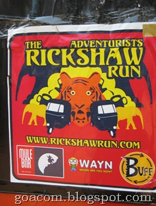 Rickshaw run to Goa