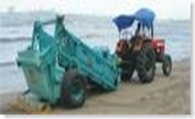beach cleaning machines in Goa