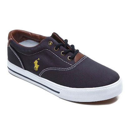 Ralph Lauren Canvas Lace Trainer TRAINER