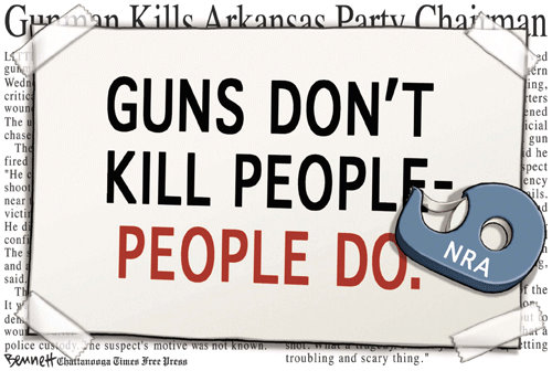 Monday Cartoon Fun: Gun Control Edition