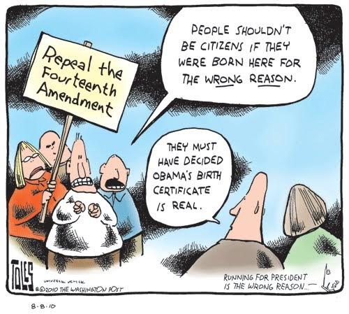The Frustrated Teacher Sunday Cartoon Fun 14th Amendment