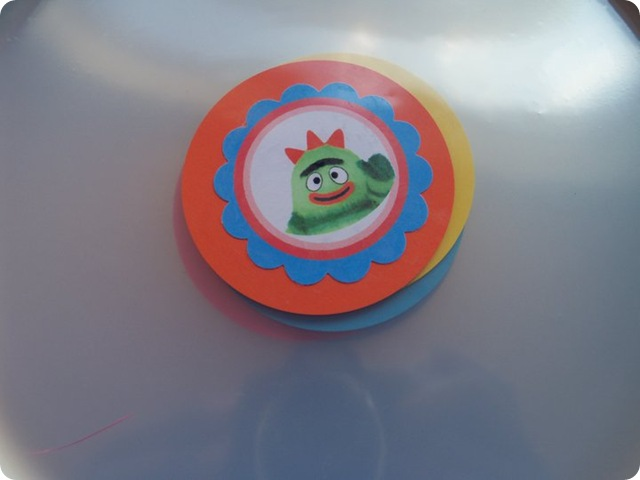Yo Gabba Gabba Custom Party Plates Brobee