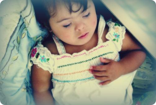 sleeping lillian