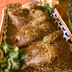 Chicken in Mole, Puebla Style