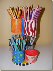Art Pencil Caddy