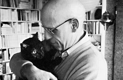 Michel Foucault with