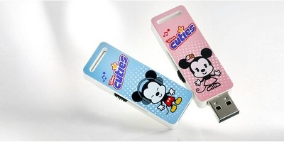 Mickey and Minnie USB flash drive