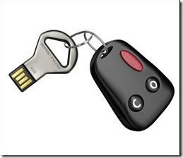 Tiny USB flash drive
