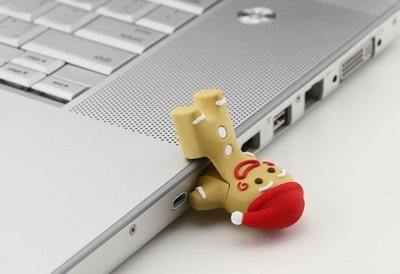 Gingerman USB flash drive