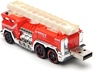 Fire engine USB flash drive 2