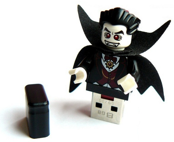 Lego Vampire USB flash drive