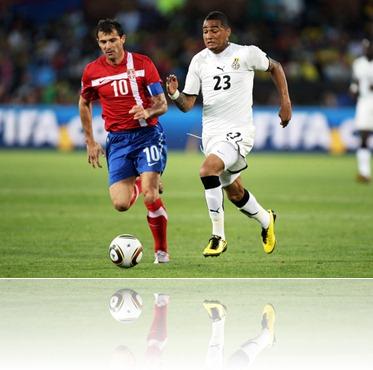 Serbia v Ghana Group 2010 FIFA World Cup Gx2KrH0d3IMl