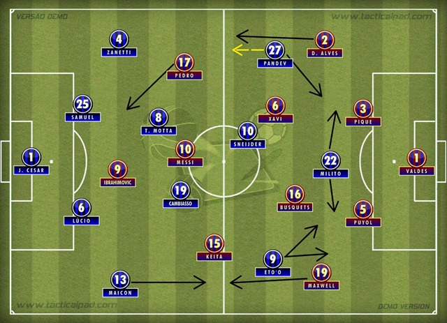Inter 3x1 Barça