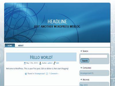 free download starworldgreen wordpress theme