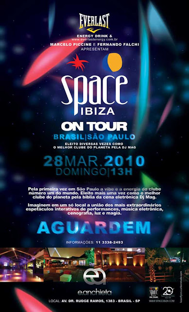 Space Ibiza On Tour Brasil