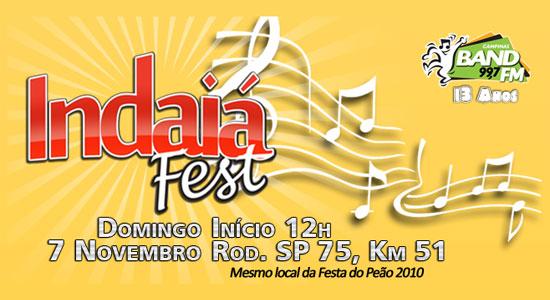 Indaiá Fest 2010