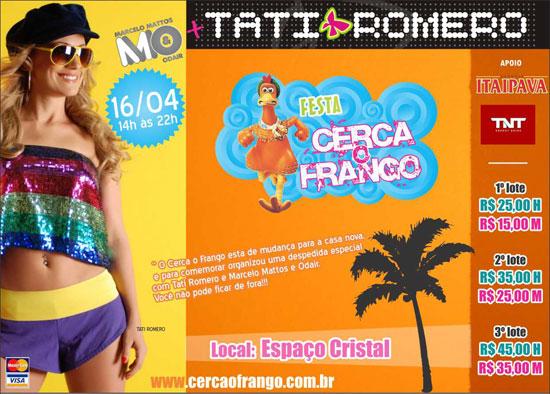 Cerca o Frango - 4ª Edição - Tati Romero