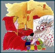 Chapeuzinho Vermelho e Lobo Maugif