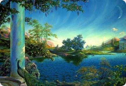 O paraíso pode estar em você!