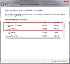 Windows 7 System Image Backup: Helpful on Failure