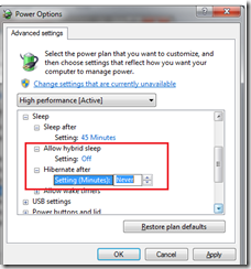 How to Disable Hibernation in Windows 7