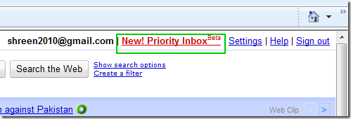 Gmail's Priority Inbox: Read Important Email