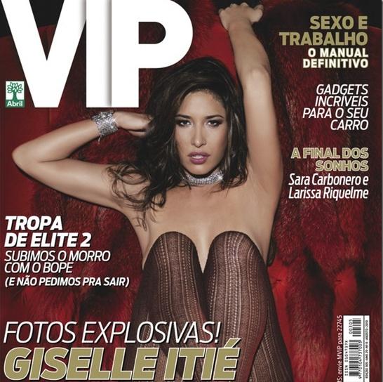 Gisele Itie na VIP
