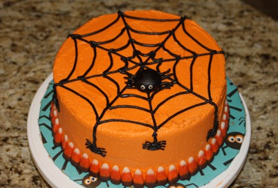 Stern Halloween cake&cupcakes 002