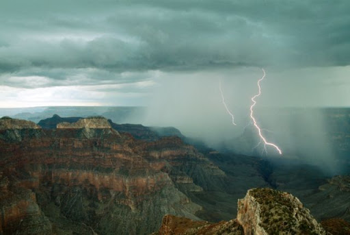 A bela e perigosa força da natureza