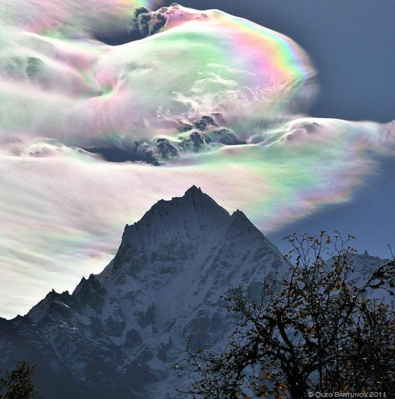 iridescent cloud over the himalayas oleg bartunov