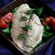 Halibut With Garlic