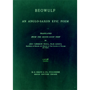 Beowulf An Anglo Saxon Epic Poem Cover