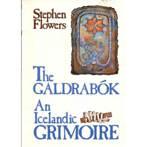 The Galdrabok An Icelandic Grimoire Cover