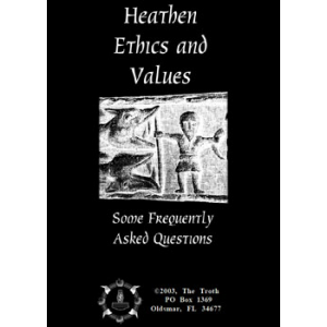 Heathen Ethics And Values Some Frequently Asked Questions Cover