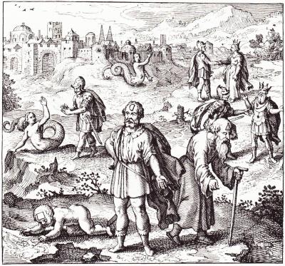 Emblema Xxxix Of Michael Maiers 1618 Atalanta Fugiens Cover