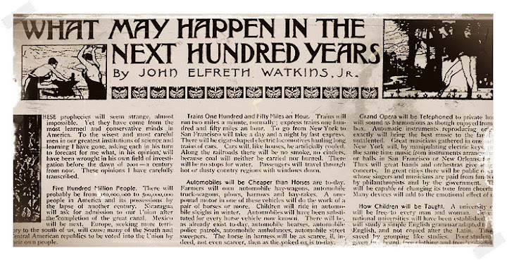 ¿Qué pasará en los próximos 100 años?