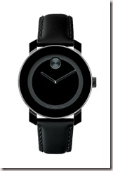 movado bold black
