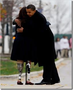 Obama Tammy Duckworth Veterans Day 2008