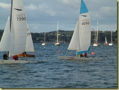 more sailing dinghies Mylor