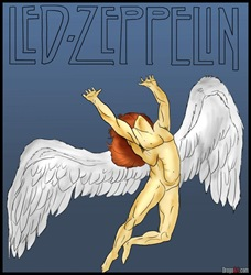 how-to-draw-led-zeppelin-swan-song-record-lable