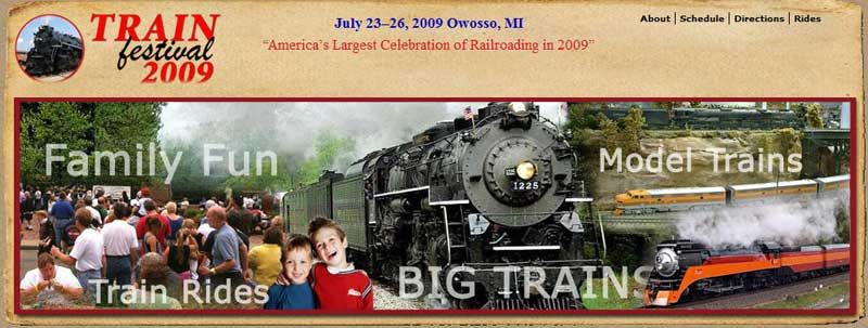 Click to visit Train Festival Page