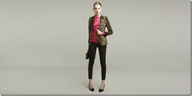 leopard animal print blazer jacket 2011